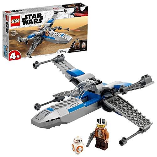 LEGO - tbd-IP-LSW3-2021 TM 75297 Star Wars ala-X de la Resistencia, Nave Espacial de Juguete con Mini Figuras de BB-8 y más para Niños de +4 años, Multicolor