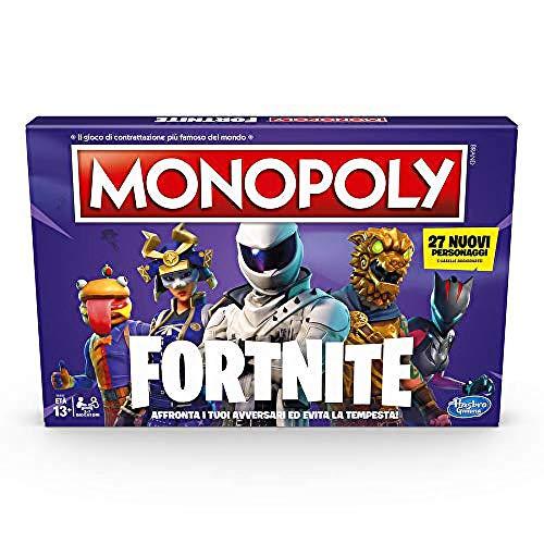 Hasbro Monopoly - Juego Fortnite en Caja, Temporada 2, edición Italiana.