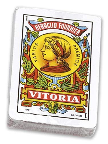 Fournier-Nº12 Baraja española de 50 Cartas empaquetada en celofán, Multicolor (20992)