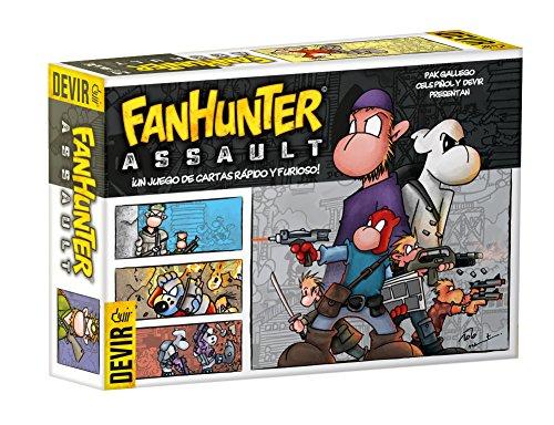 Devir BGFHAS. Juego de cartas Fanhunter Assault. Edicion en castellano