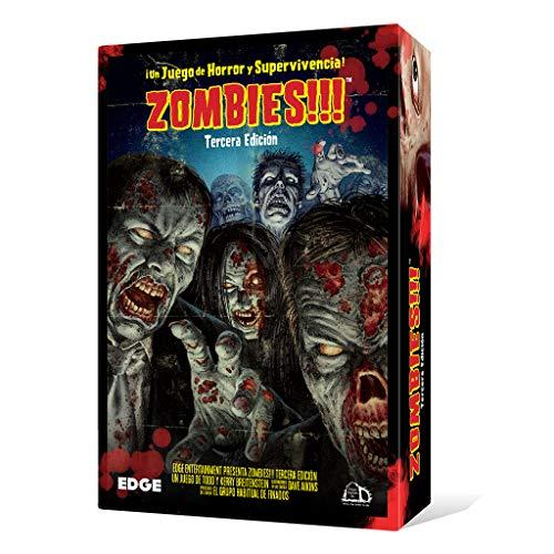 Edge Entertainment-Zombies-Juego de Mesa, 3ª edición (EDGTC3D)