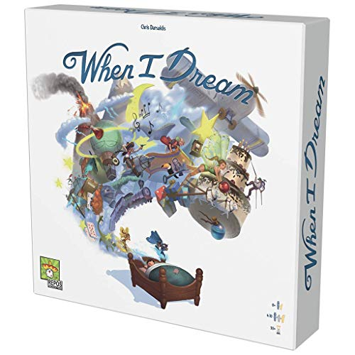 Asmodee-When I Dream-Juego de Tablero (Repos Production RPWD0001)