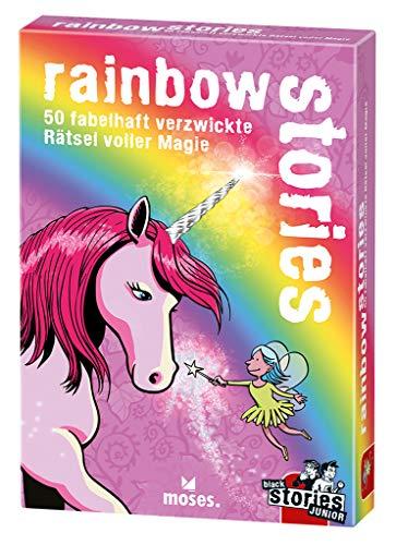 Black Stories Junior - Rainbow Stories: 50 misterios fabulosos con Magia