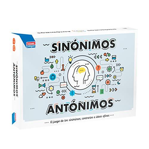 Falomir- Sinónimos y Antónimos Juego de Mesa, Multicolor (646387)