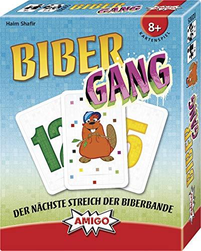 AMIGO- Biber-Gang Juego de Cartas. (02005)
