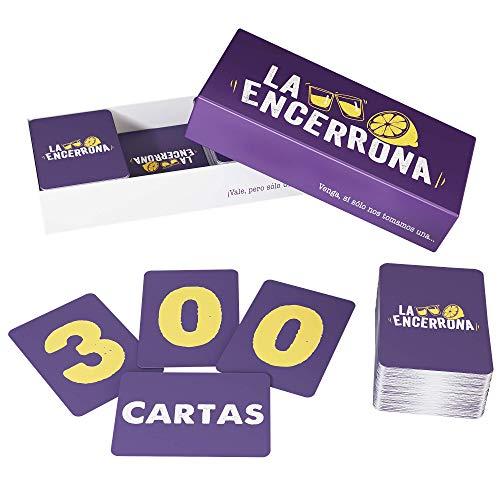ZENAGAME La Encerrona - 300 Cartas - Juego de Mesa - El Juego de Beber para Tus veladas - Juego de Mesa Adulto, Juego con Alcohol