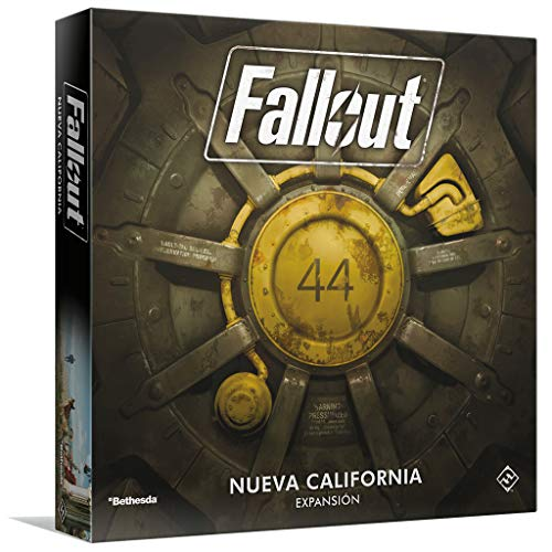 Fantasy Flight Games- Fallout: New California, Color (FFZX03)