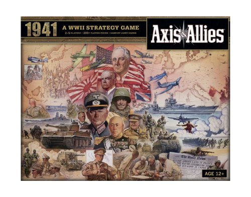 Wizards of the Coast- Axis & Allies 1941-Juego de Mesa sobre Guerra Entre Eje y Aliados (inglés) (396870000)