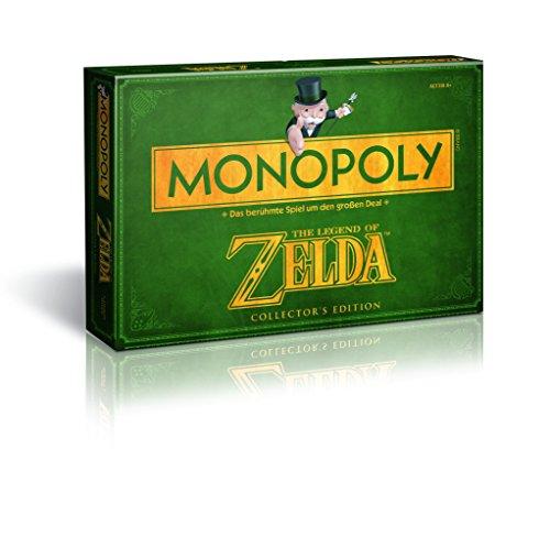 Monopoly - Juego de Mesa, Tema Legend of Zelda, de 2 a 6 Jugadores (Winning Moves 43508) (versión en alemán)