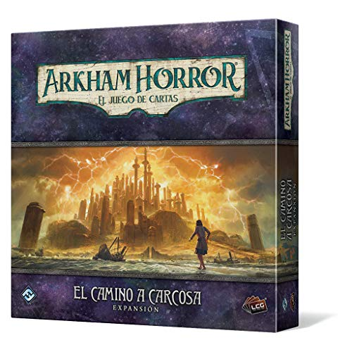 Fantasy Flight Games- Arkham Horror lcg - el Camino a carcosa, Color (FFAHC11)