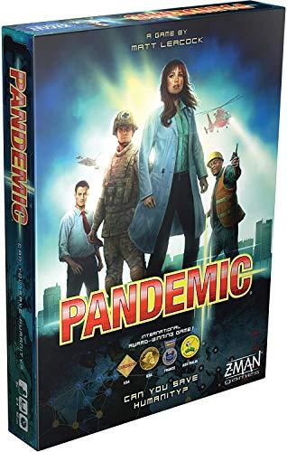 Pandemic Legacy Plague Crisis Marines Party Estrategia Juego de mesa Solitario (English/Original)