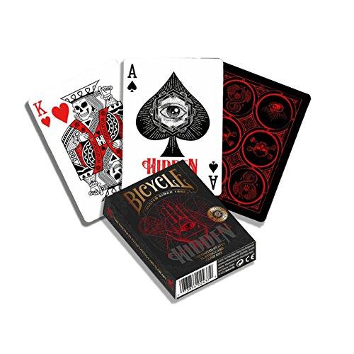 Bicycle- Hidden Baraja de Cartas de Poker Premium para coleccionsta, Color multiple (1041160) , color/modelo surtido