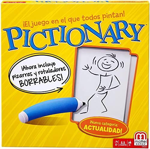 Mattel Games - Pictionary, Juegos de Mesa (Mattel DKD51)