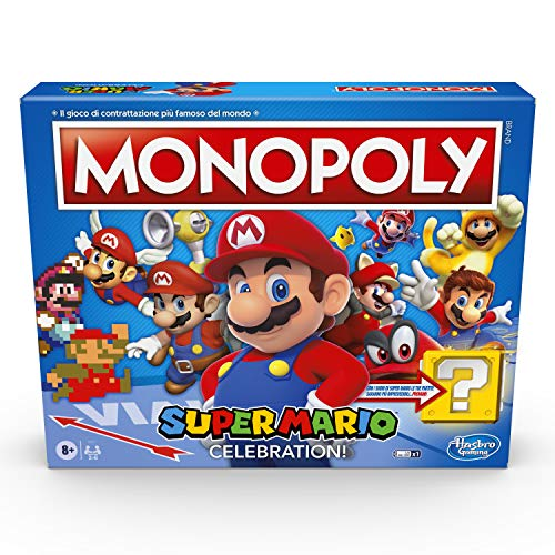 MONOPOLY SUPER MARIO CELEBRATION (versión en italiano)