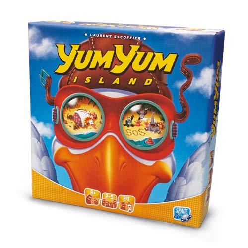 Asmodee Italia Yum Island Juego de Mesa, Color, 8761