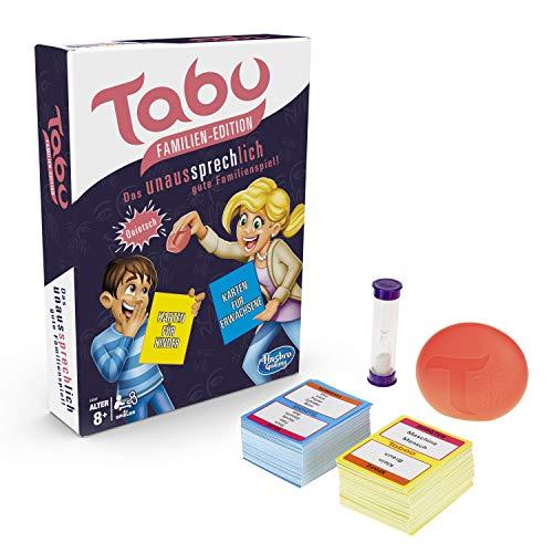 Hasbro Gaming E4941100 Tabu Familien Edition - Juego Familiar