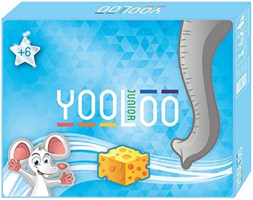YOOLOO Junior - El Juego de Cartas para niños - También para Aprender números - Juego Educativo - (2 a 8 Jugadores) - Novedad 2018 - Made in Germany