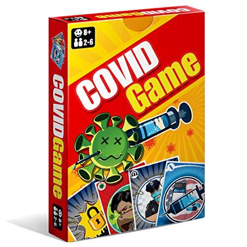 COVID Game - Juego de Cartas - Divertido, Educativo y Estrategico - Ingles y Español