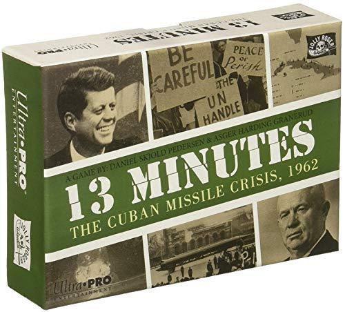 Ultra Pro 13 Minutos La Crisis de los misiles cubanos 1962 Juego de Cartas (11963)