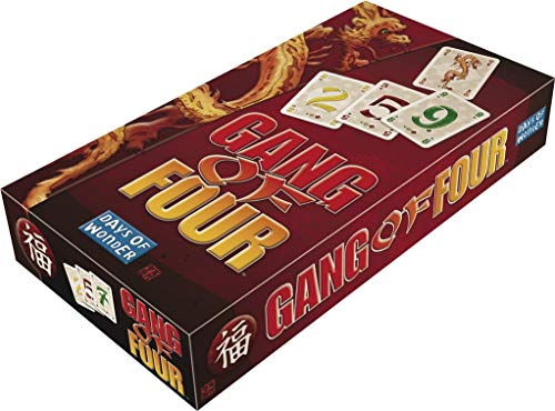 Days of Wonder LFCABI204 - Gang of Four, Juego de estrategia