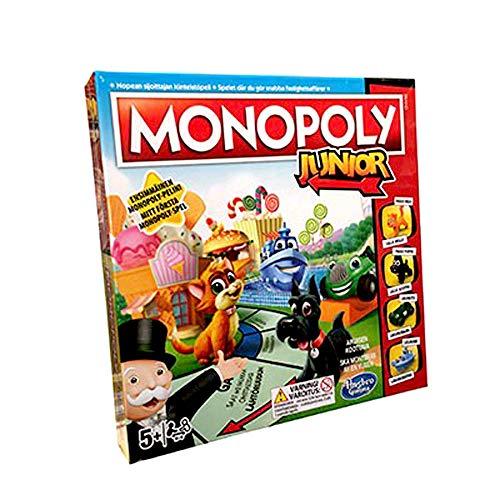 Monopoly Hasbro A6984169 Junior - Sueco / Finés