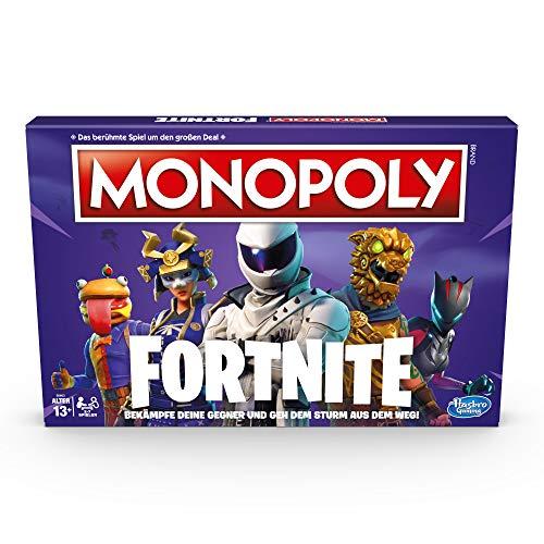 Hasbro Gaming- Monopoly Fortnite Edition Juego de mesa para videojuegos, a partir de 13 años, Color (E6603398) [Version Alemana]