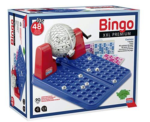 Falomir- Bingo XXL Juego De Mesa, Multicolor, Talla Única (23030)