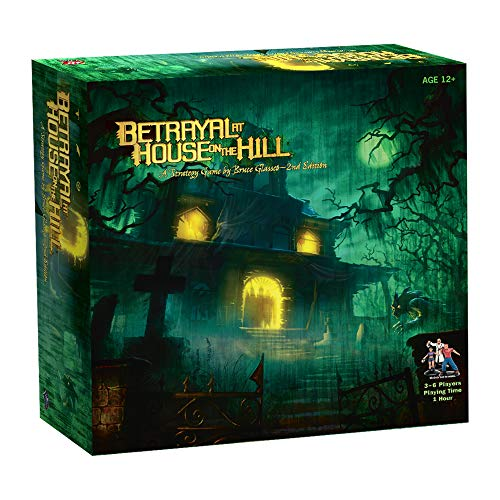 Avalon Hill / Wizards of the Coast 26633 Betrayal at House on the Hill - Juego de mesa de misterio (en inglés) , color/modelo surtido