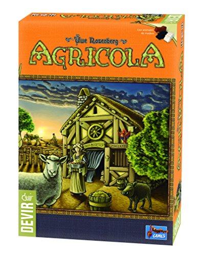 Devir - Agrícola edición 2016, Juego de Mesa (BGHAGR)