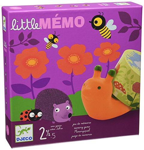 DJECO- Juegos de acción y reflejosJuegos educativosDJECOJuego Little Memo, Color surtido (DJ08552)