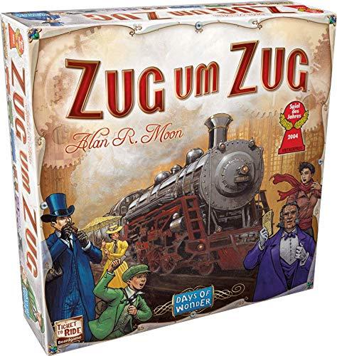 Days Of Wonder - Juego de tablero, 2 a 5 jugadores (versión en alemán) - Idioma Alemán