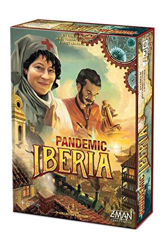 Asmodee - Pandemic Iberia Juego de mesa, multicolor, 8389, Edición Italiana