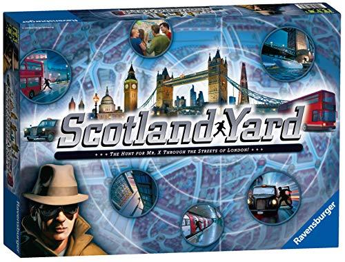 Ravensburger - Scotland Yard, Juego de Habilidad, para 6 Jugadores (26646) (Importado)