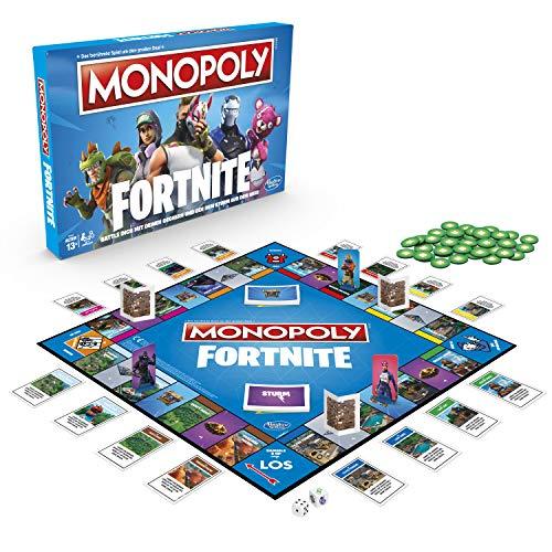 Hasbro Monopoly: Fortnite Party board game Adultos - Juego de tablero [Version Alemana]