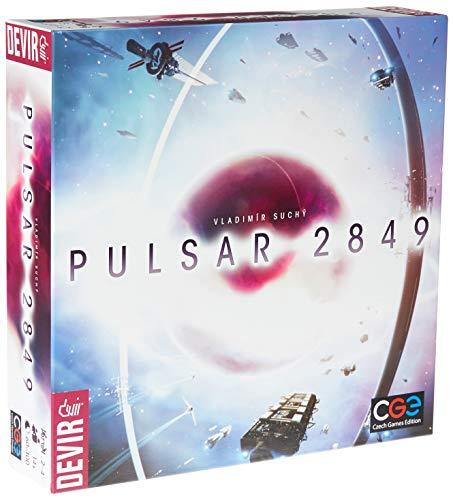 Devir - Pulsar 2489, juego de mesa (ed. en español)