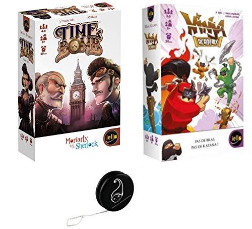 Blumie Shop - Juego de 2 juegos Time Bomb + Ninja Academy + 1 Yoyo