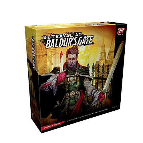 Avalon Hill Board Game Betrayal at Baldur's Gate English Wizards Coast Giochi
