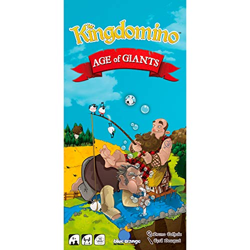 Blue Orange Games Age of Giants. [Expansión para Kingdomino], Multicolor, 03603