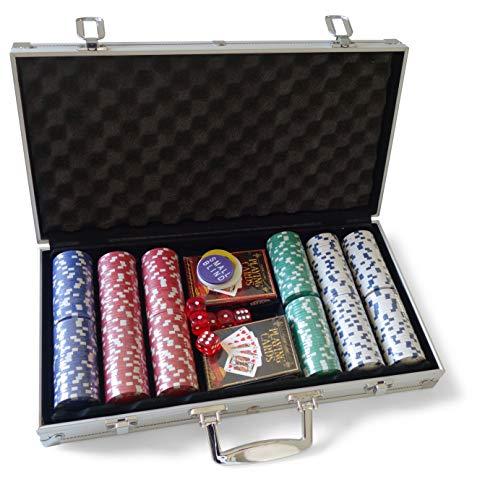 Cartamundi- Maletín Poker Aluminio Joker Set, Color (106010337)