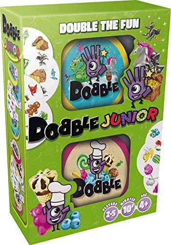 Zygomatic Dobble Junior Juego de cartas (texto en inglés) , color/modelo surtido