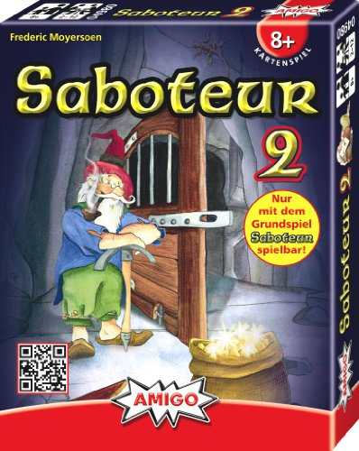 Amigo - Juego de Cartas, de 2 a 12 Jugadores (Importado)