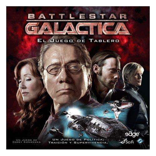 Battlestar Galactica Juguetes, Color (asmodee EDGBG01)