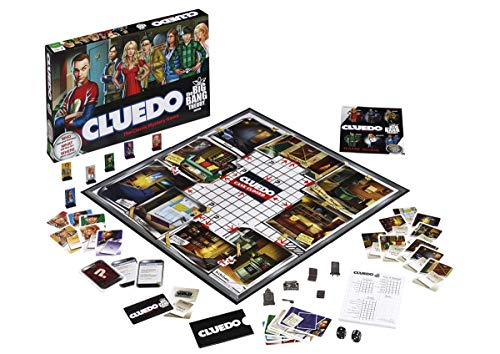 Big Bang Theory Cluedo Board Game