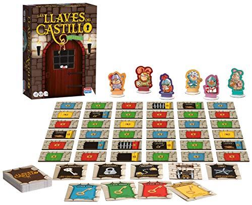 Falomir-Las Llaves del Castillo de Luxe Juego de Mesa, Multicolor (30046)