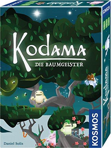 KOSMOS Kodama 692933 – Juego de Mesa con Reglas Sencillas en Encantador diseño japonés, Juego de Regalo