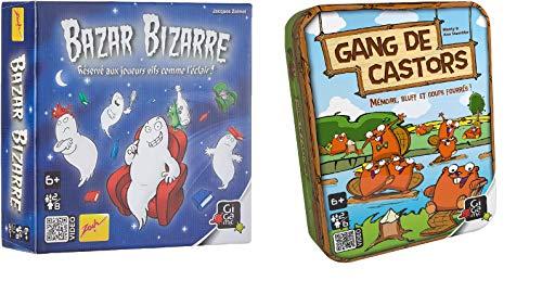 UDC Gang de Castor - Juego de 2 juegos de mesa