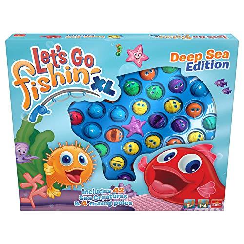 Pressman Toy- Lets Go Fishing XL Océano motorizado (30815)