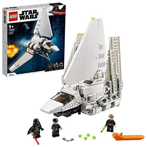LEGO - tbd-IP-LSW8-2021 TM 75302 Star Wars Lanzadera Imperial Juguete de construcción con Mini Figuras de Darth Vader y Luke Skywalker, Multicolor