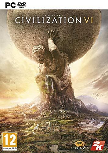 Take-Two Interactive Civilization VI, PC Básico PC Inglés, Francés vídeo - Juego (PC, PC, Estrategia, Modo multijugador, E10 + (Everyone 10 +))