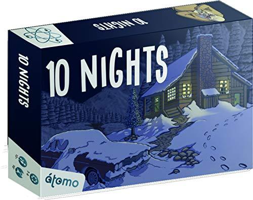 Átomo Games 10 Nights! Juego de Mesa